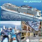 🔱⚜Круиз по Средиземноморью на новом лайнере 🛳♨ MSC GRANDIOSA — от 270 евро!!!