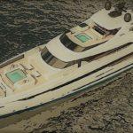 Новая 50-метровая яхта Lel от морских архитекторов Arrabito