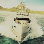 Быстрая и экономичная 50-метровая моторная яхта Altea