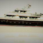 Новые моторные ретро-яхты от Ray Hunt Design